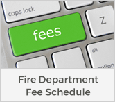 Fire Department Fee Schedule