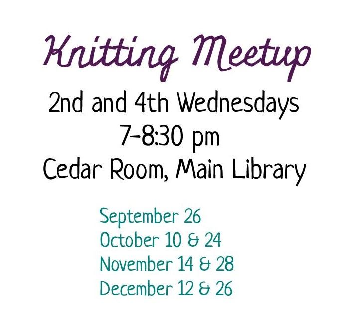 Knitting meetup