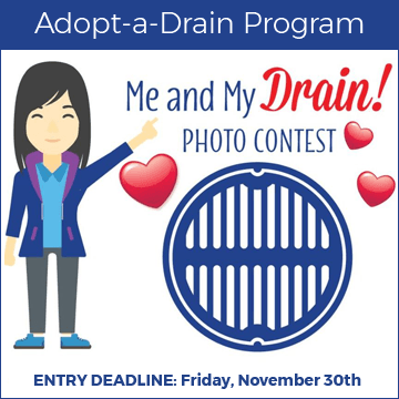 &#34Me and My Drain&#34 Photo Contest