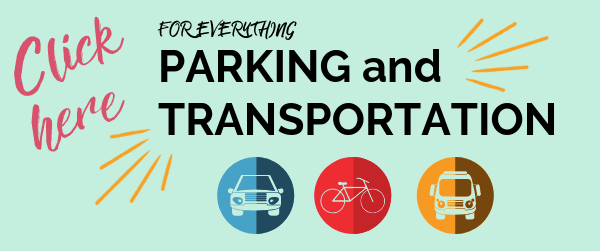 Parking and Transportation Webpages