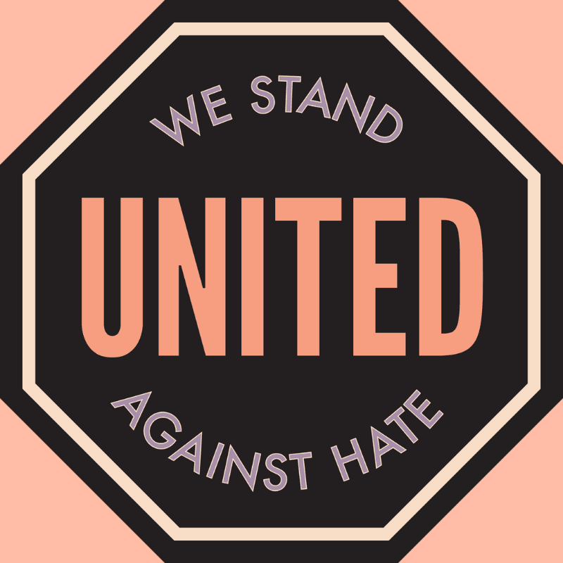 United Against Hate logo