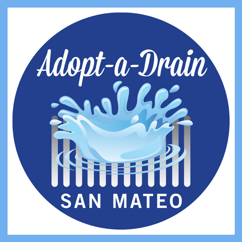 Adopt A Drain rain puddle graphic