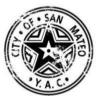 Image of City of San Mateo Parks and Recreation Department Youth Activities Council logo.