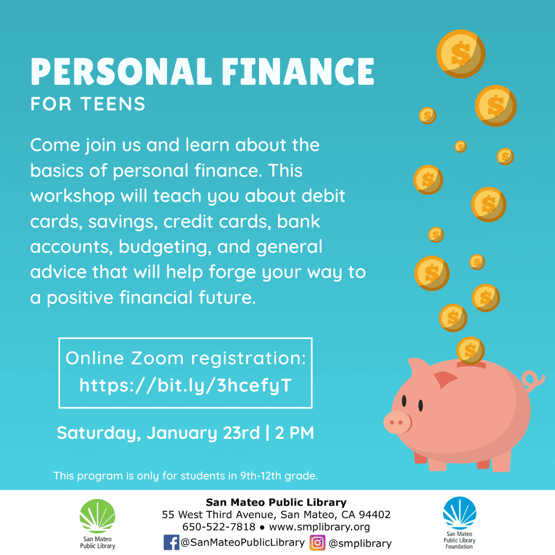 Personal Finance for Teens Jan 2021