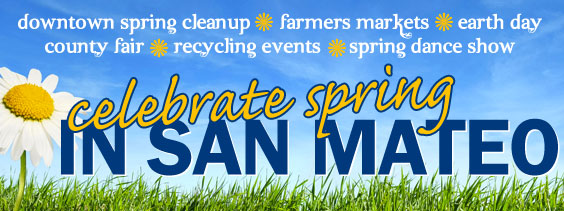 Spring into Summer in San Mateo